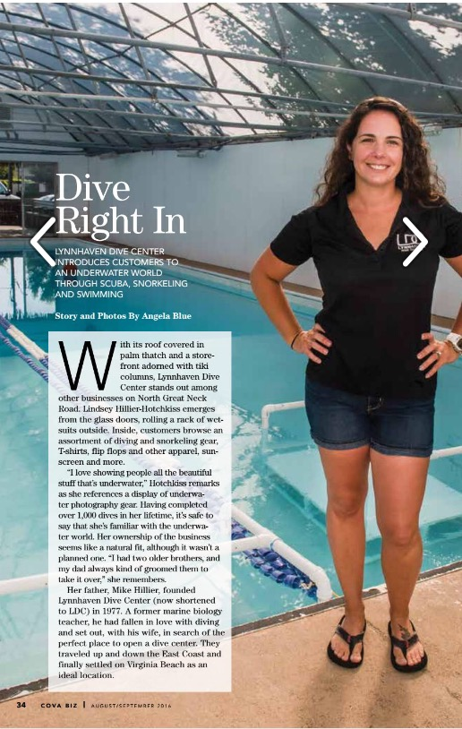 Dive Right In With Lindsey Hillier Hotchkiss From